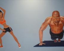 fitness_mural