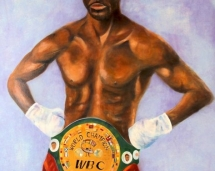autographed_bernard_hopkins_painting